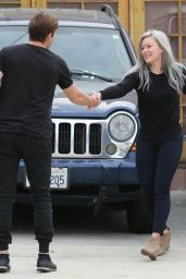 Hilary Duff Booty in Jeans - Out in LA, April 2015