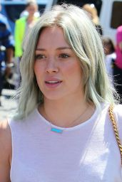 Hilary Duff - Headed to a Dance Studio in Los Angeles, April 2015
