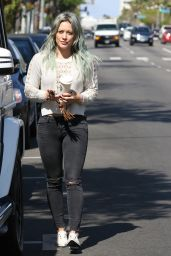 Hilary Duff - Out in Los Angeles, April 2015