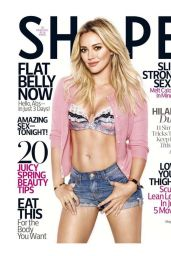 Hilary Duff - Shape Magazine Cover, May 2015