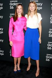 Hilary Swank - Samsung Galaxy S6 and S6 edge Launch in New York City