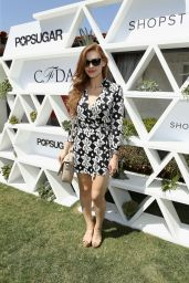 Holland Roden – POPSUGAR + SHOPSTYLE'S Cabana Club Pool Parties in Palm Springs
