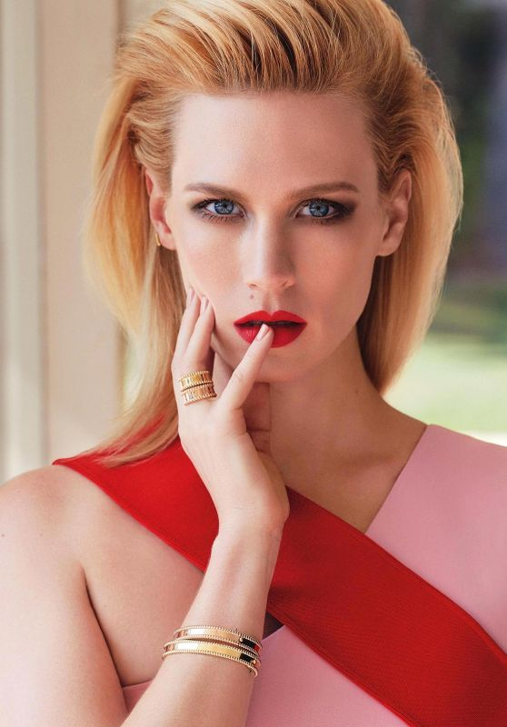 January Jones - Marie Claire Magazine (UK) May 2015 Issue