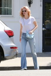 January Jones - Out in Beverly Hills, April 2015