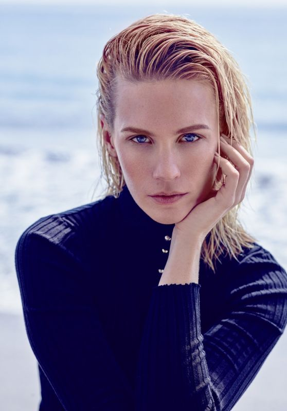 January Jones Photoshoot - Rapsody Magazine April 2015