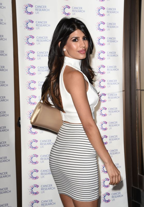 Jasmin Walia - Jog On To Cancer Event in London, April 2015