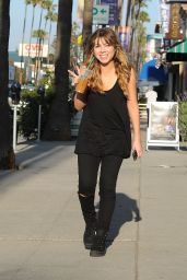 Jennette Mccurdy - Out in Los Angeles, April 2015