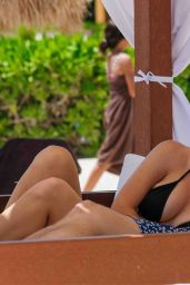 Jennie Garth - On the Beach in Tulum April 2015
