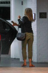 Jennifer Aniston - Arriving at the Ultra Exclusive Members-Only Soho House in West Hollywood, April 2015