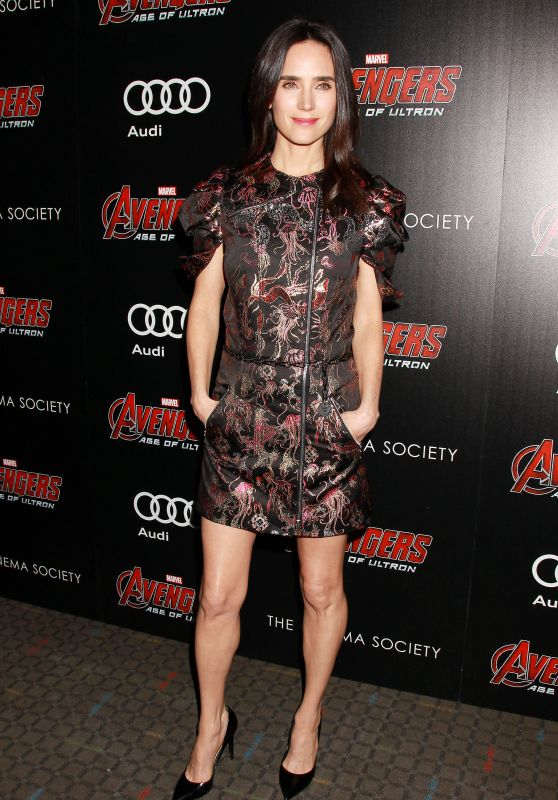 Jennifer Connelly - Avengers: Age of Ultron Screening in New York City