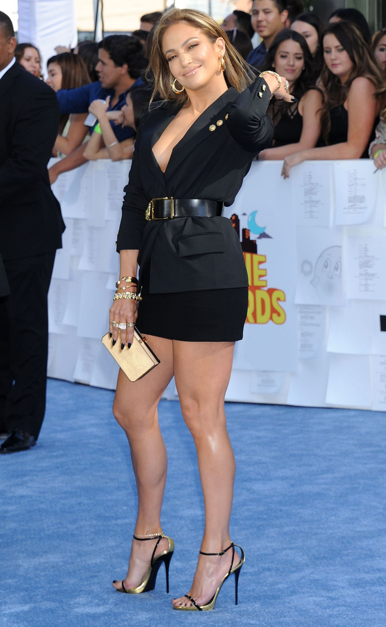 Jennifer Lopez Photos - The 2015 MTV Movie Awards