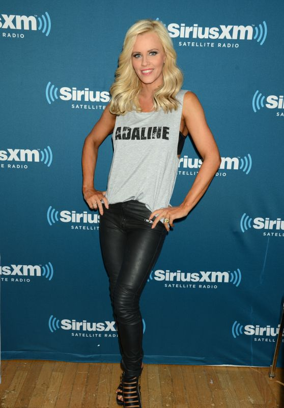 Jenny McCarthy at SiriusXM Studios in New York City, April 2015