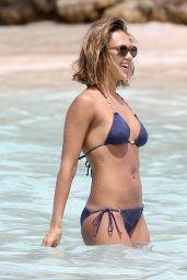 Jessica Alba Hot in Bikini - in the Caribbean, April 2015