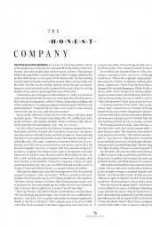 Jessica Alba - MORE Magazine May 2015 Issue