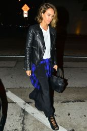 Jessica Alba Night Out Style - at Craig