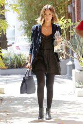 Jessica Alba - out in Santa Monica, April 2015