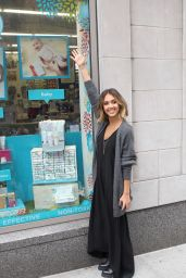 Jessica Alba - Promoting The Honest Company in NYC - April 2015