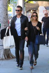 Jessica Alba - Shopping in Beverly Hills, April 2015