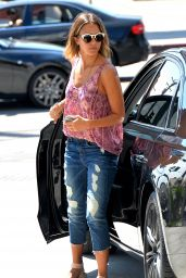Jessica Alba Street Style - at a Gas Station in Beverly Hills, April 2015