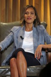 Jessica Alba - The Honest Company Q&A in Beverly Hills, April 2015