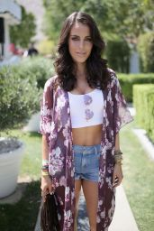 Jessica Lowndes – POPSUGAR + SHOPSTYLE'S Cabana Club Pool Parties in Palm Springs