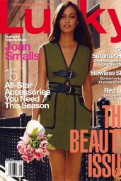 Joan Smalls - Lucky Magazine May 2015 Issue
