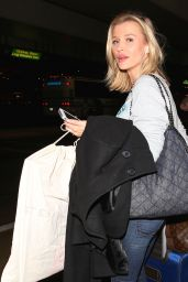 Joanna Krupa in Jeans - LAX Airport, April 2015