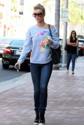 Joanna Krupa in Jeans - Out in LA, April 2015