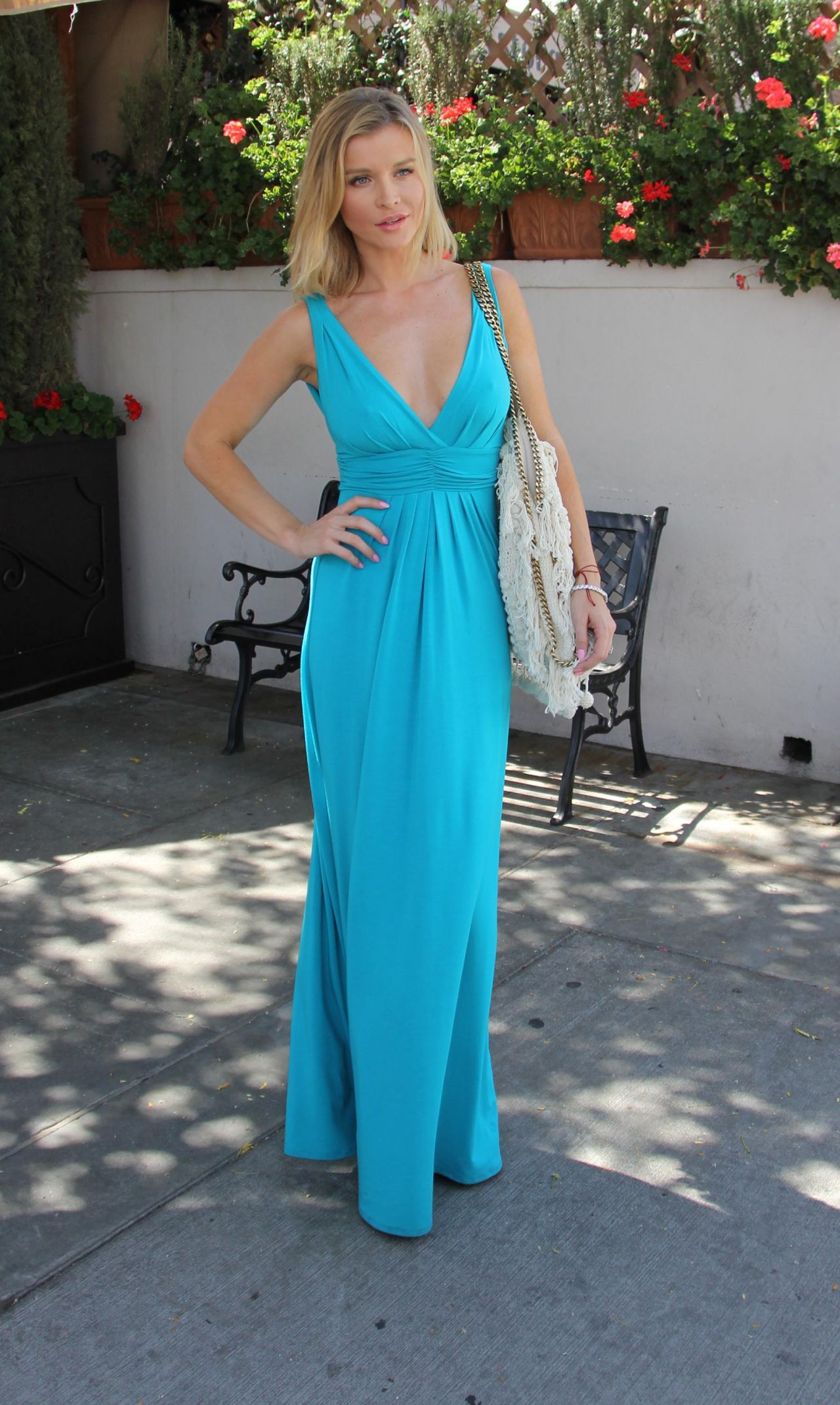 Joanna Krupa Style Out In Beverly Hills April 2015