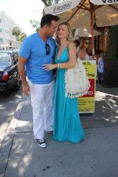 Joanna Krupa Style - Out in Beverly Hills, April 2015