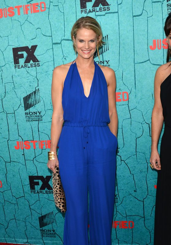 Joelle Carter - Justified and Fearless Season Premiere in Los Angeles