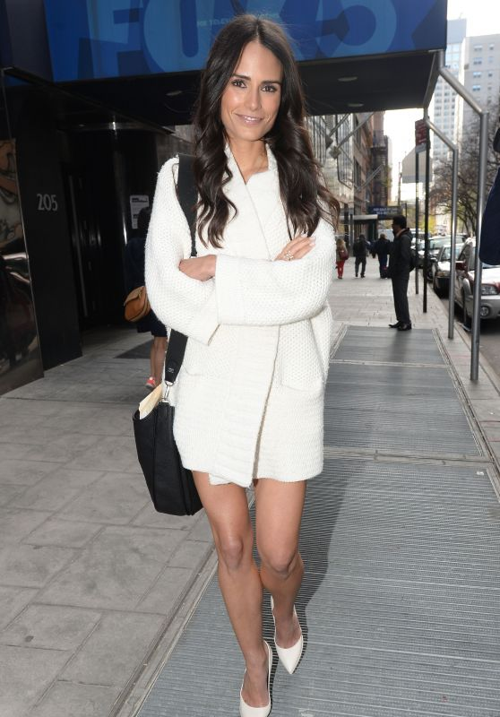 Jordana Brewster – Good Day New York Studios in Manhattan, April 2015
