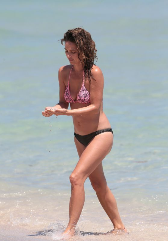 Josie Maran in a Bikini in Miami, April 2015