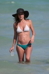 Josie Maran Wearing a Bikini in Miami - April 2015