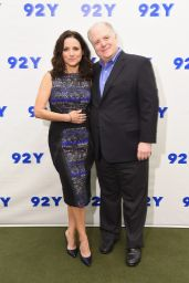 Julia Louis-Dreyfus - 2015 Street Y Presents: Julia Louis-Dreyfus in Conversation with Frank Rich in NYC