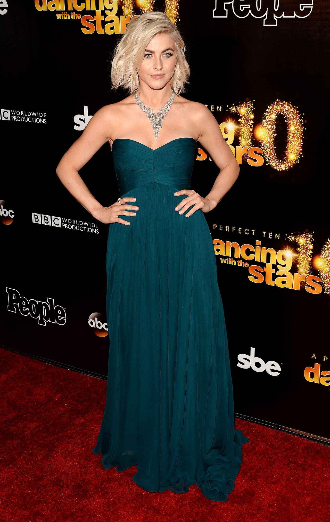 Julianne Hough - Dancing With The Stars 10th Anniversary ...