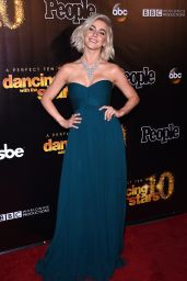 Julianne Hough - Dancing With The Stars 10th Anniversary in West Hollywood