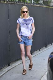 Kate Bosworth in Shorts - Out in Beverly Hills, April 2015