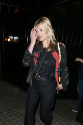 Kate Moss - Leaving Chiltern Fire House in London, April 2015