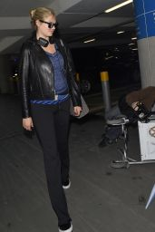 Kate Upton at Heathrow Airport after Landing From Vancover, April 2015