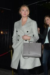 Kate Upton Night Out Style - at the Chiltern Firehouse in London, April 2015