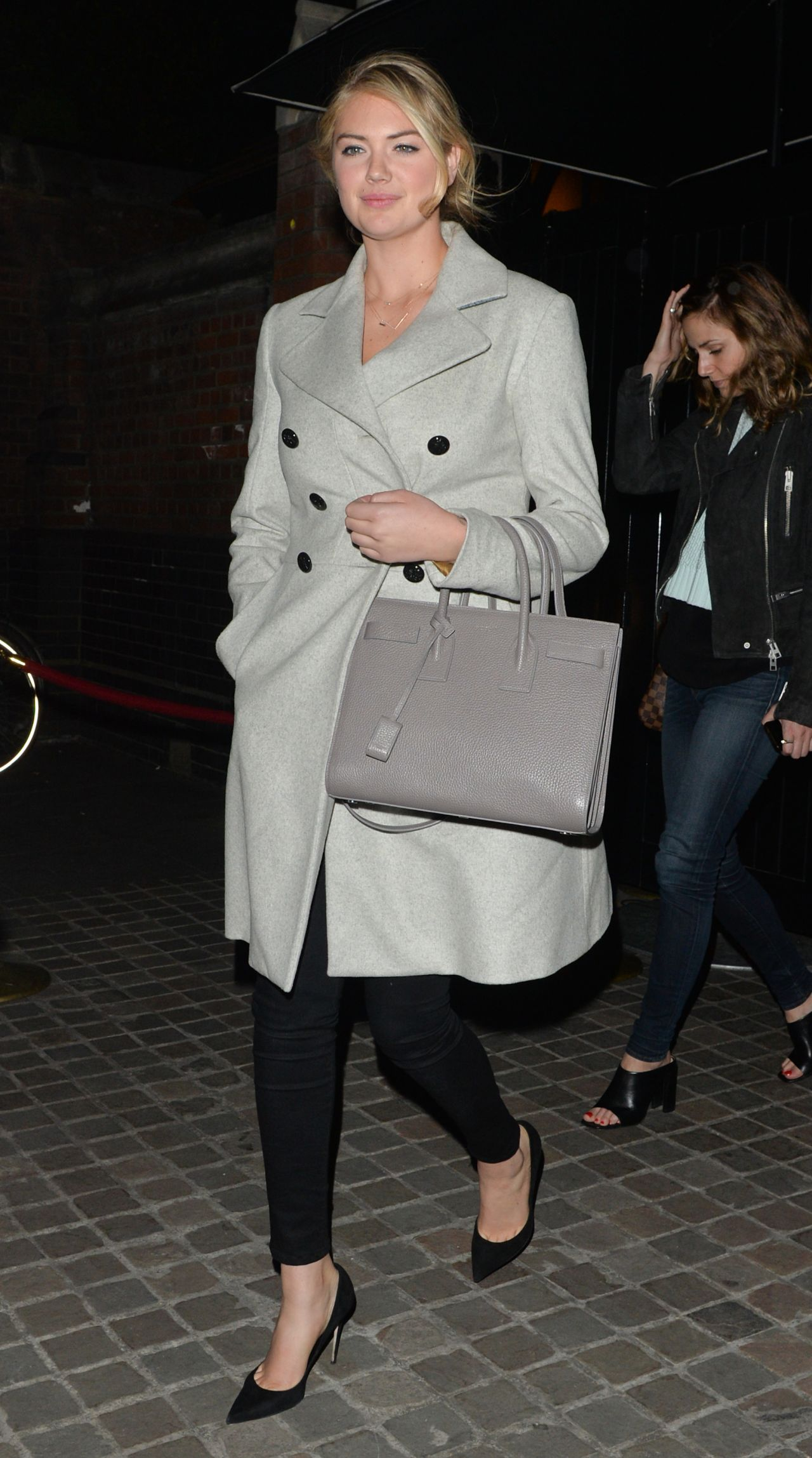 Kate Upton Night Out Style At The Chiltern Firehouse In London April 2015