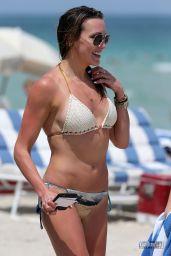 Katie Cassidy Hot in a Bikini - Beach in Miami Part II, April 2015