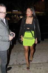 Keke Palmer Night Out Style - Leaving Madeo Restaurant in Beverly Hills, April 2015
