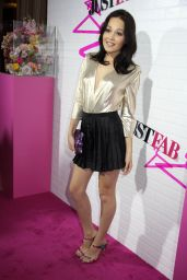 Kelli Berglund Hot in Mini Skirt - JustFab Ready-To-Wear Launch Party Hollywood