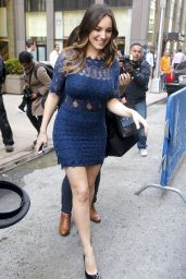 Kelly Brook - at SiriusXM Studios in New York City, April 2015