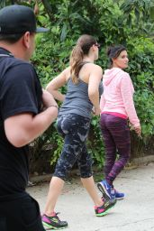 Kelly Brook Booty in Tights - Out in Hollywood, April 2015