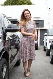 Kelly Brook - Leaving a Hair Salon in West Hollywood, April 2015