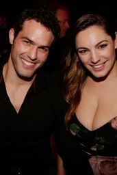 Kelly Brook Night Out Style - at the Crazy Horse in Paris, April 2015
