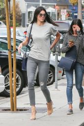 Kendall Jenner in Tight Jeans - Out in Los Angeles, April 2015